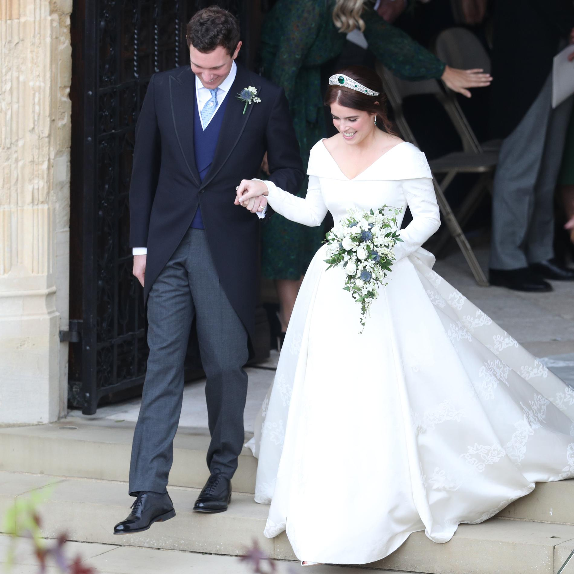 Les photos du mariage de la princesse Eugenie et Jack Brooksbank