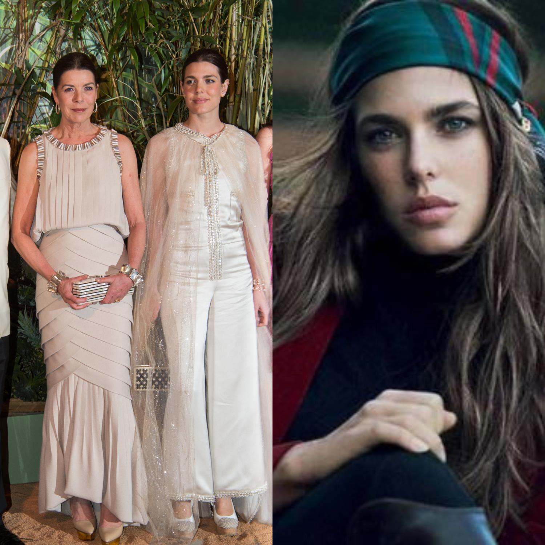 Les têtes couronnées et autres aristos qui séduisent la mode - Charlotte Casiraghi