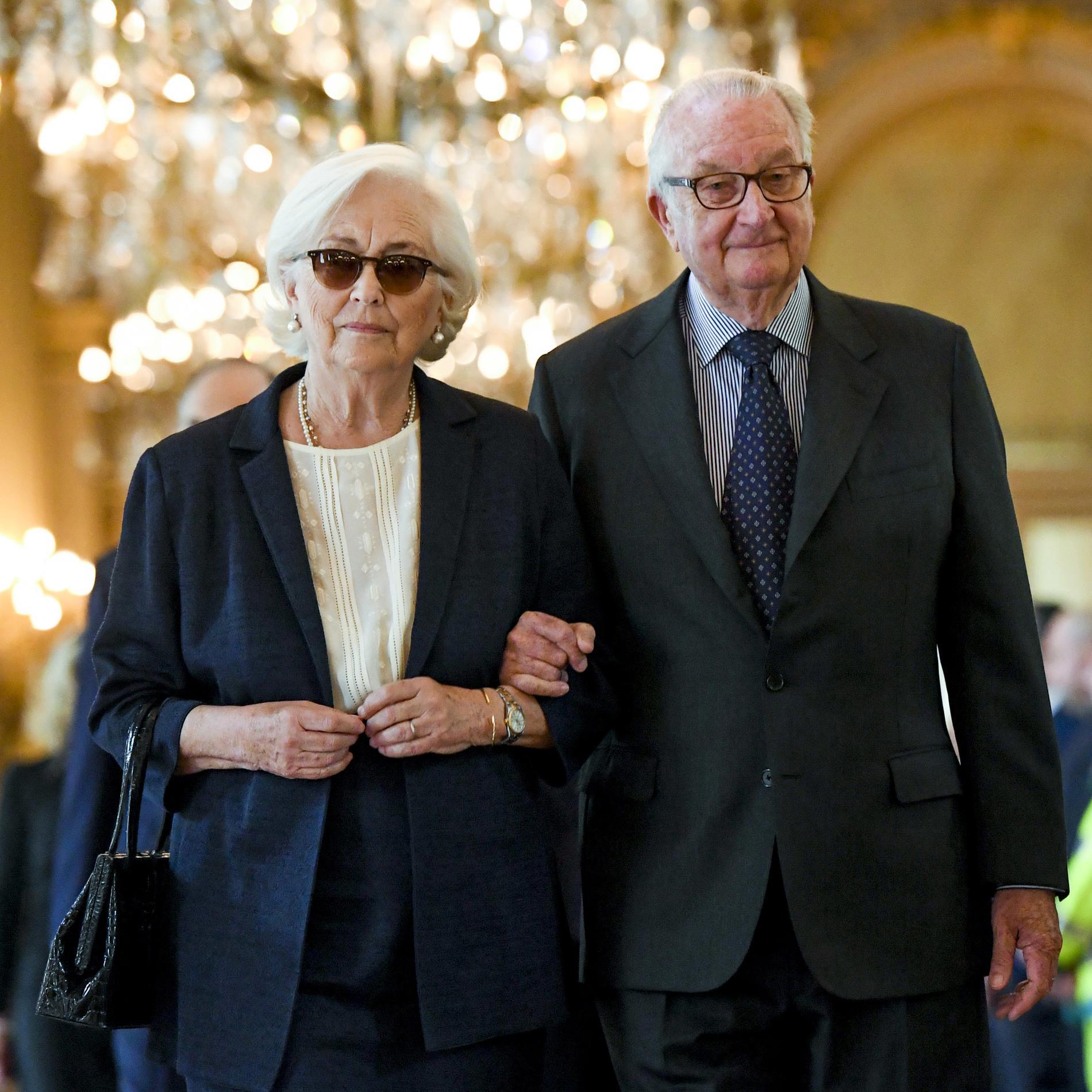 Albert II de Belgique et Paola Ruffo di Calabria