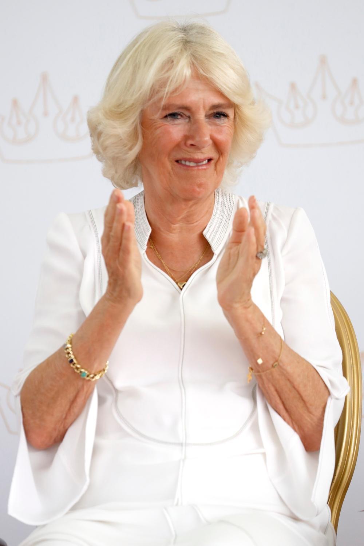 Le prince Charles et Camilla font de la concurrence à Theresa May sur la piste de danse