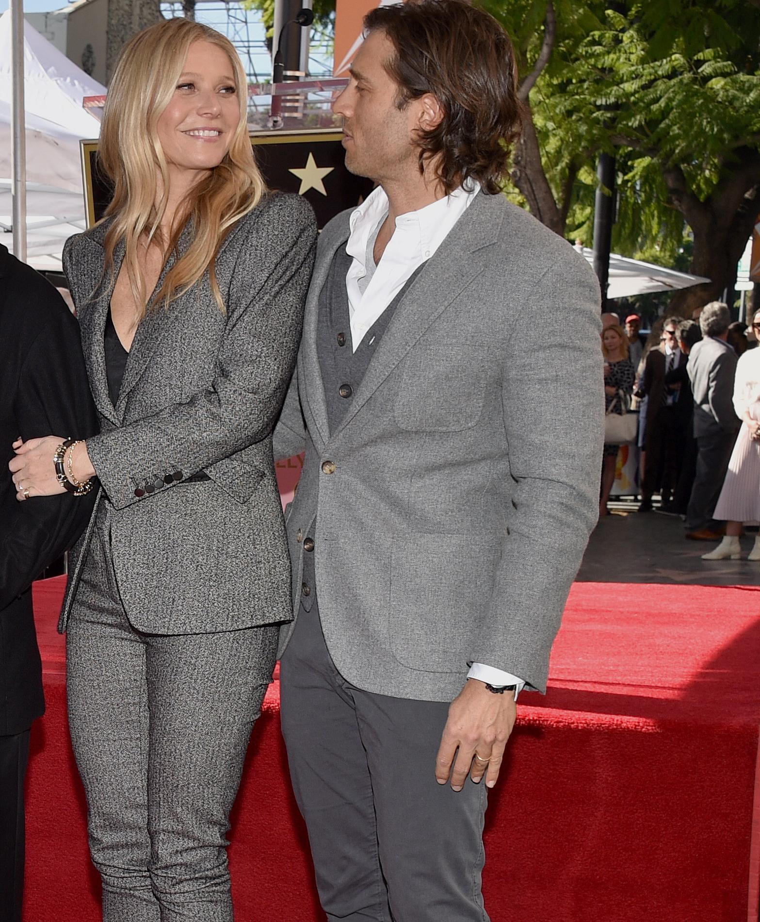 Ces couples dont la synergie s'étend même au dressing - Gwyneth Paltrow et Brad Falchuk