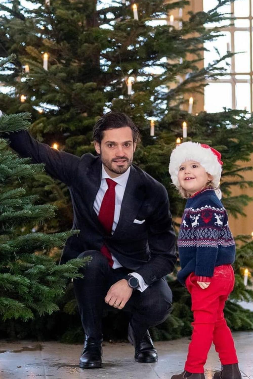 Alexander de Suède, mignon petit elfe de son père le prince Carl Philip