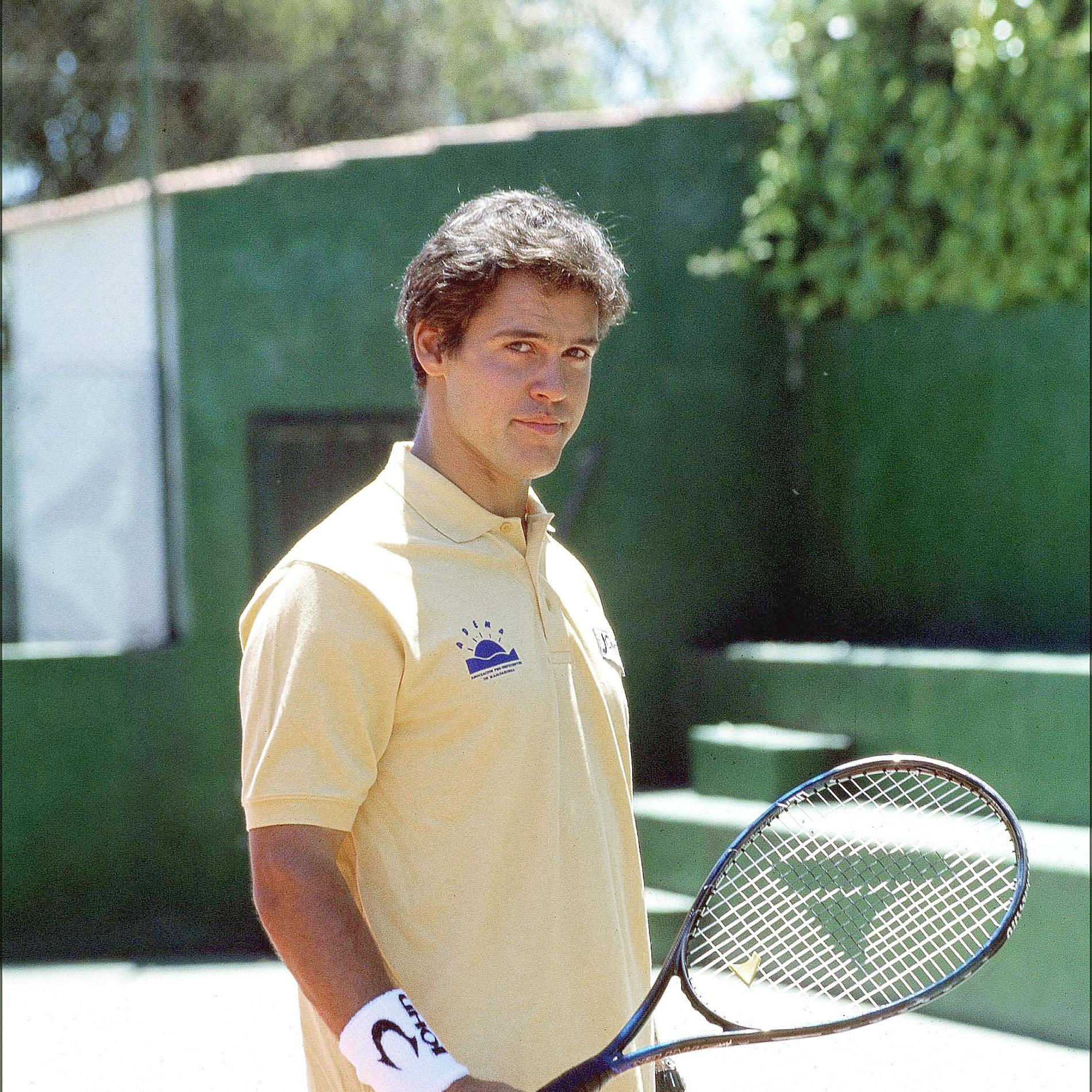 Louis XX jeune, fan de sport