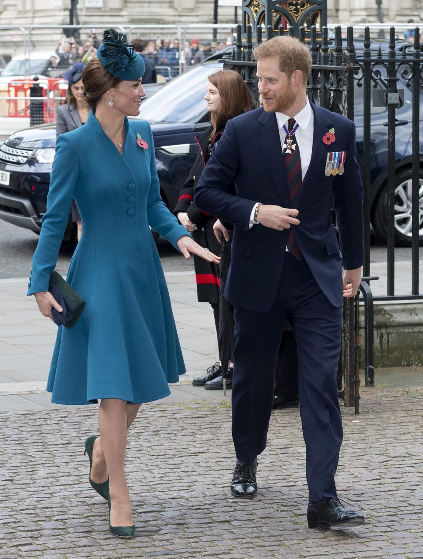 Kate Middleton plaisante avec le prince Harry