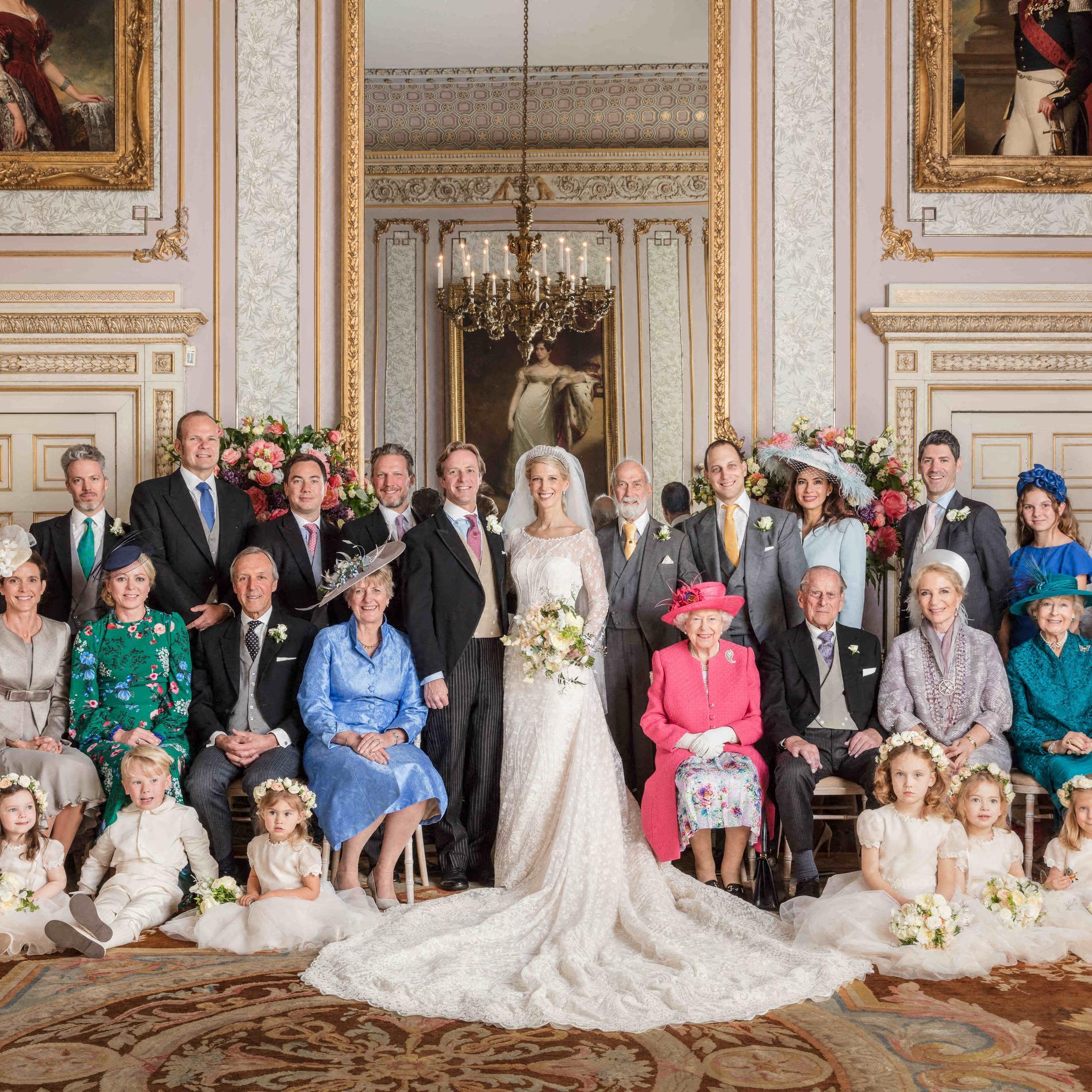 Le mariage presque royal de Lady Gabriella Windsor