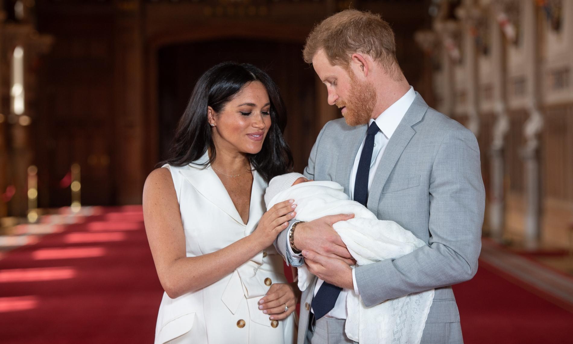Meghan princesse, Archie Harrison sans titre : ce que l'on apprend dans le certificat de naissance du royal baby