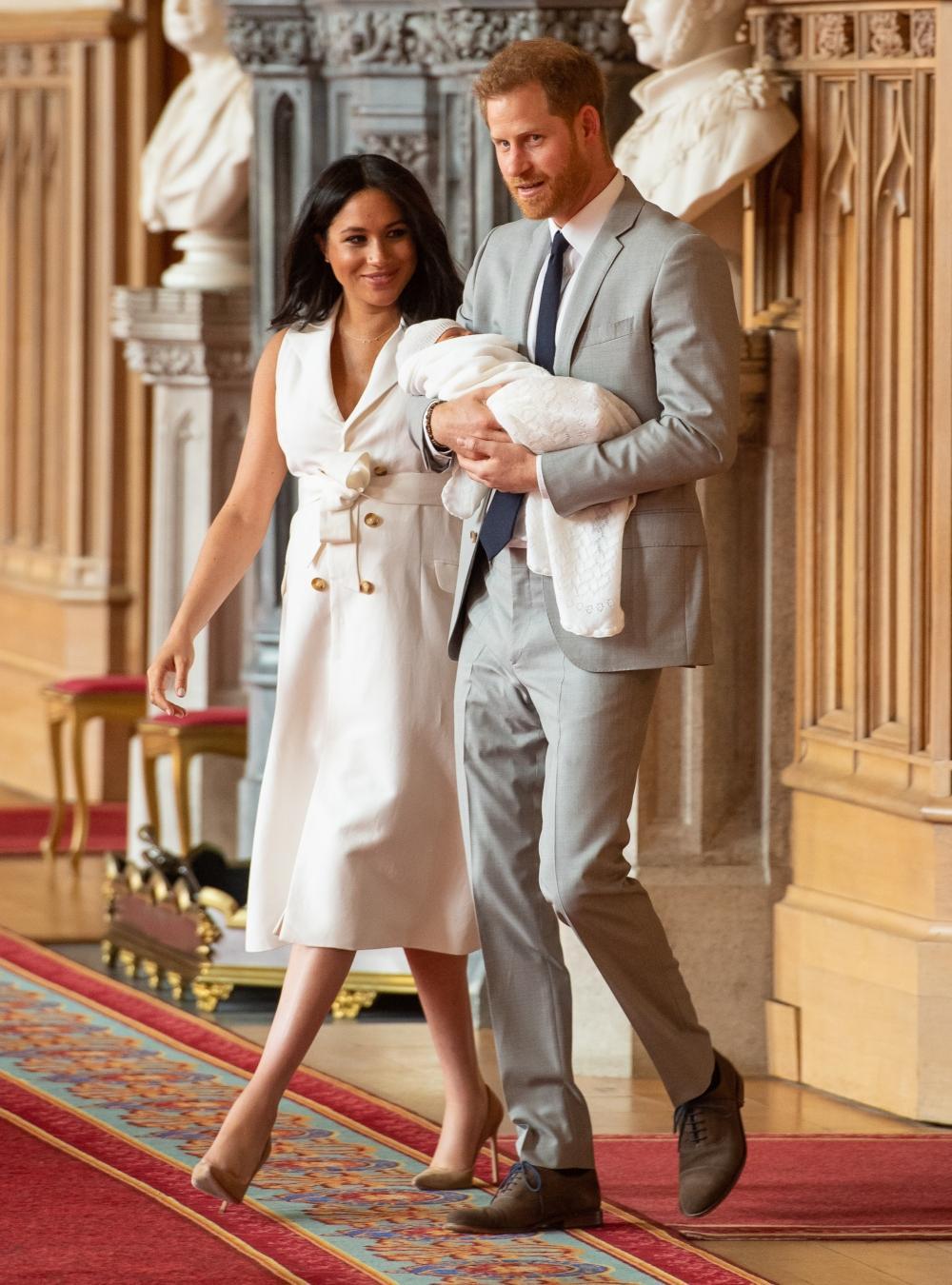 Les premières images du royal baby de Meghan Markle et du prince Harry