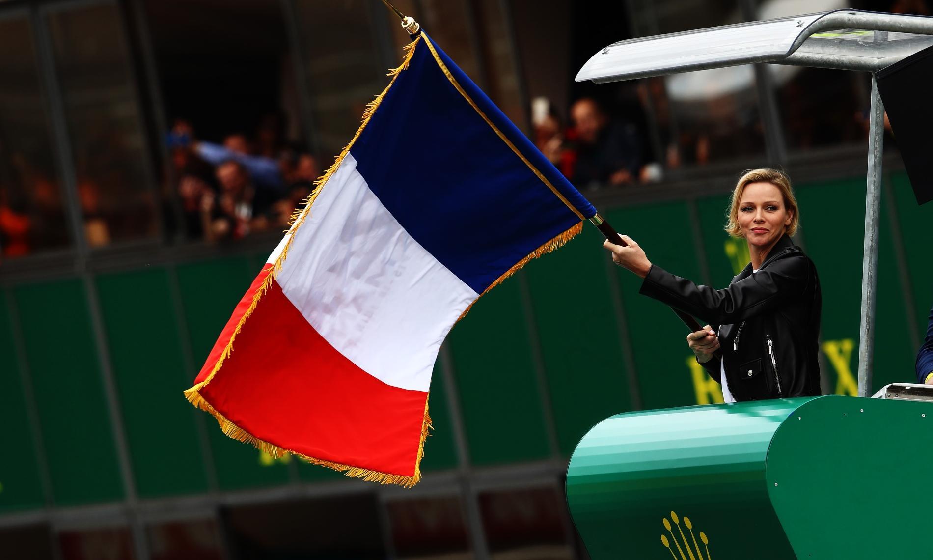 Charlene de Monaco au 24 Heures du Mans