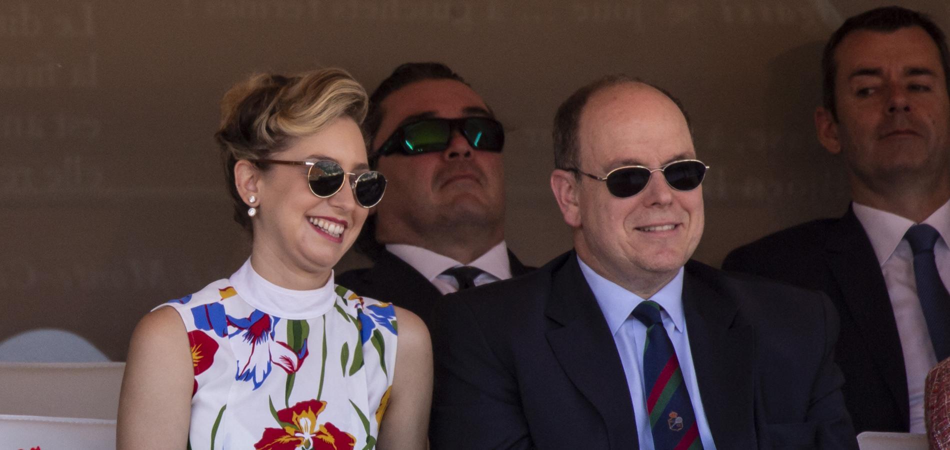 Jazmin Grimaldi et Albert II de Monaco