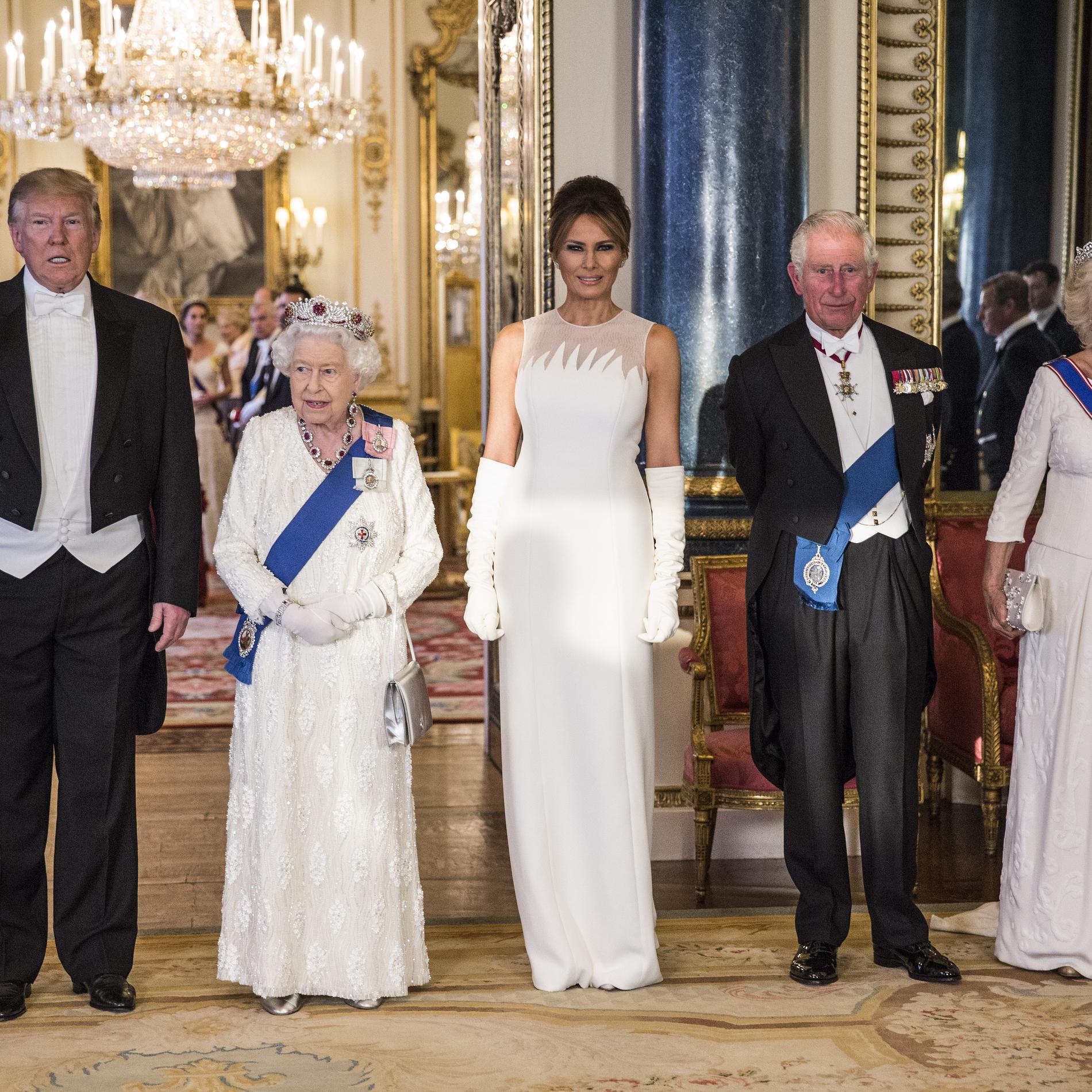 Le marathon mode londonien de Melania Trump