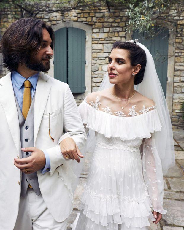 Le mariage de Charlotte Casiraghi et Dimitri Rassam