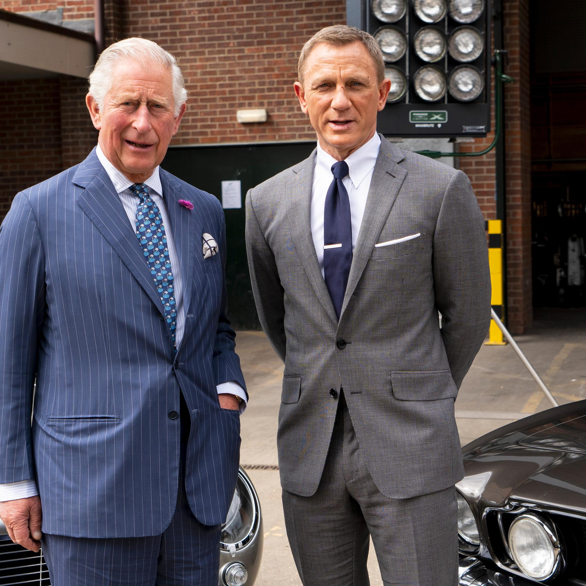 Daniel Craig rencontre le prince Charles