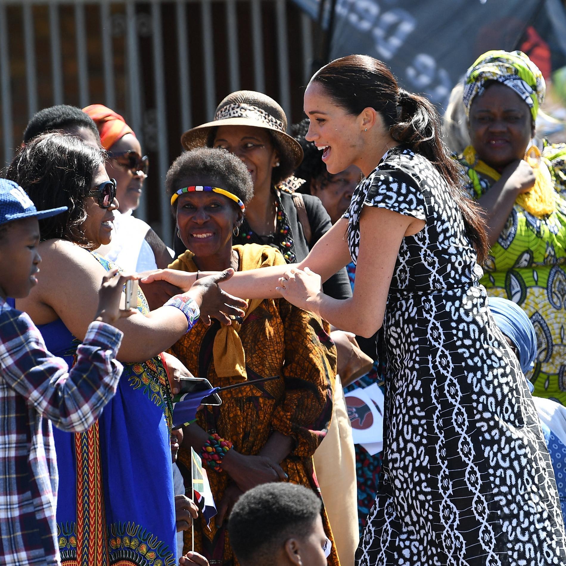 Le prince Harry et Meghan Markle en Afrique du Sud