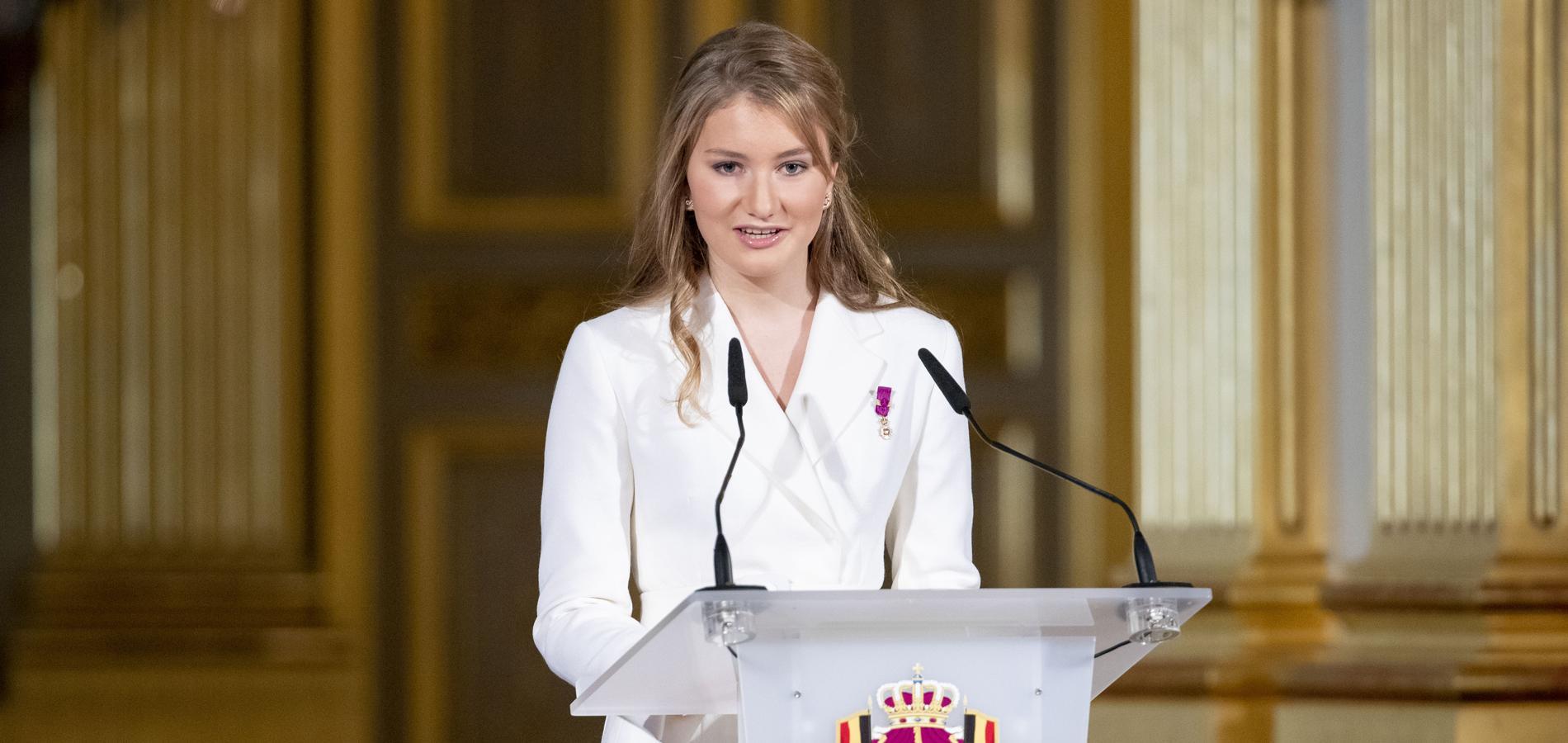 Élisabeth, 18 ans, le destin unique de la future reine des Belges