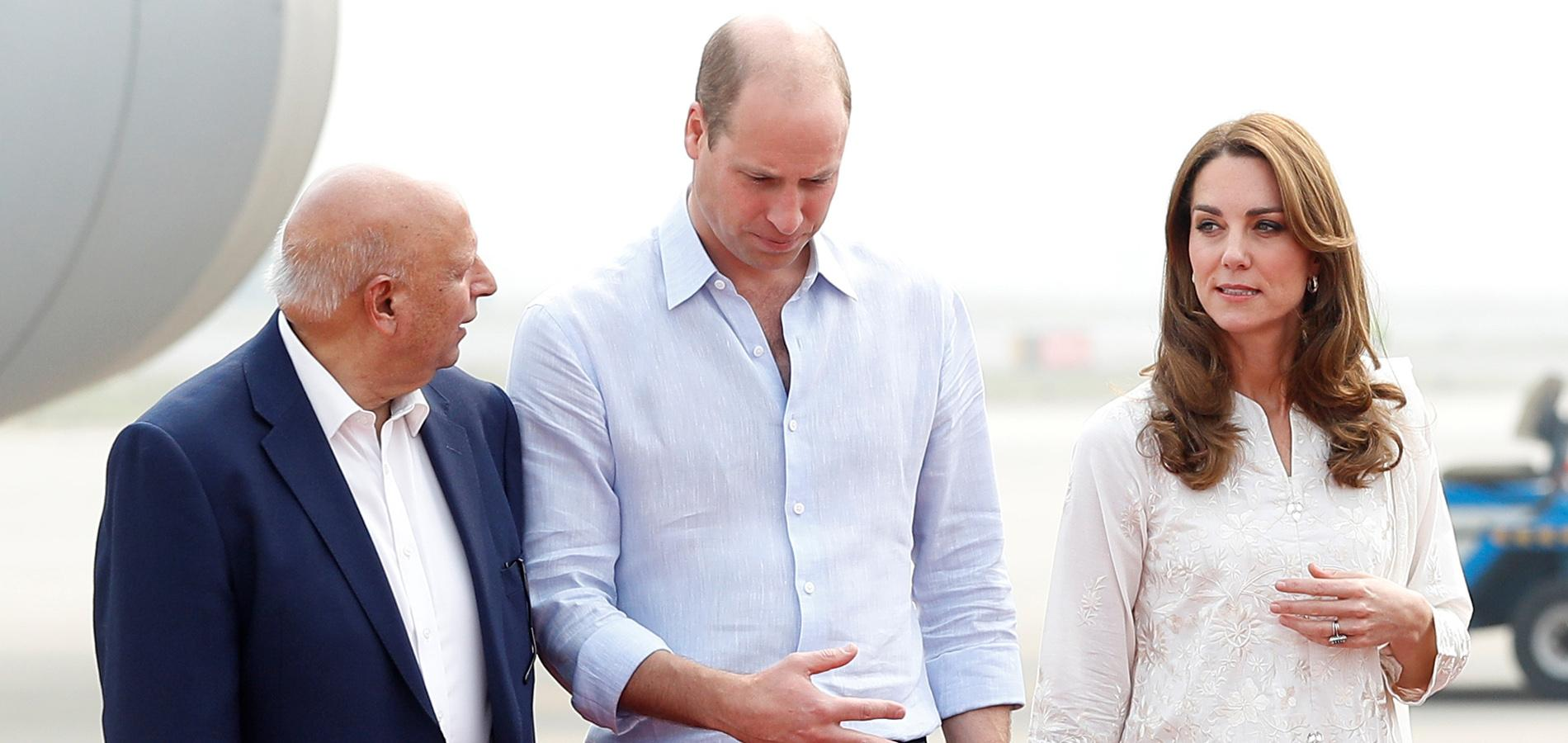 L'avion de Kate et William pris dans un violent orage au Pakistan