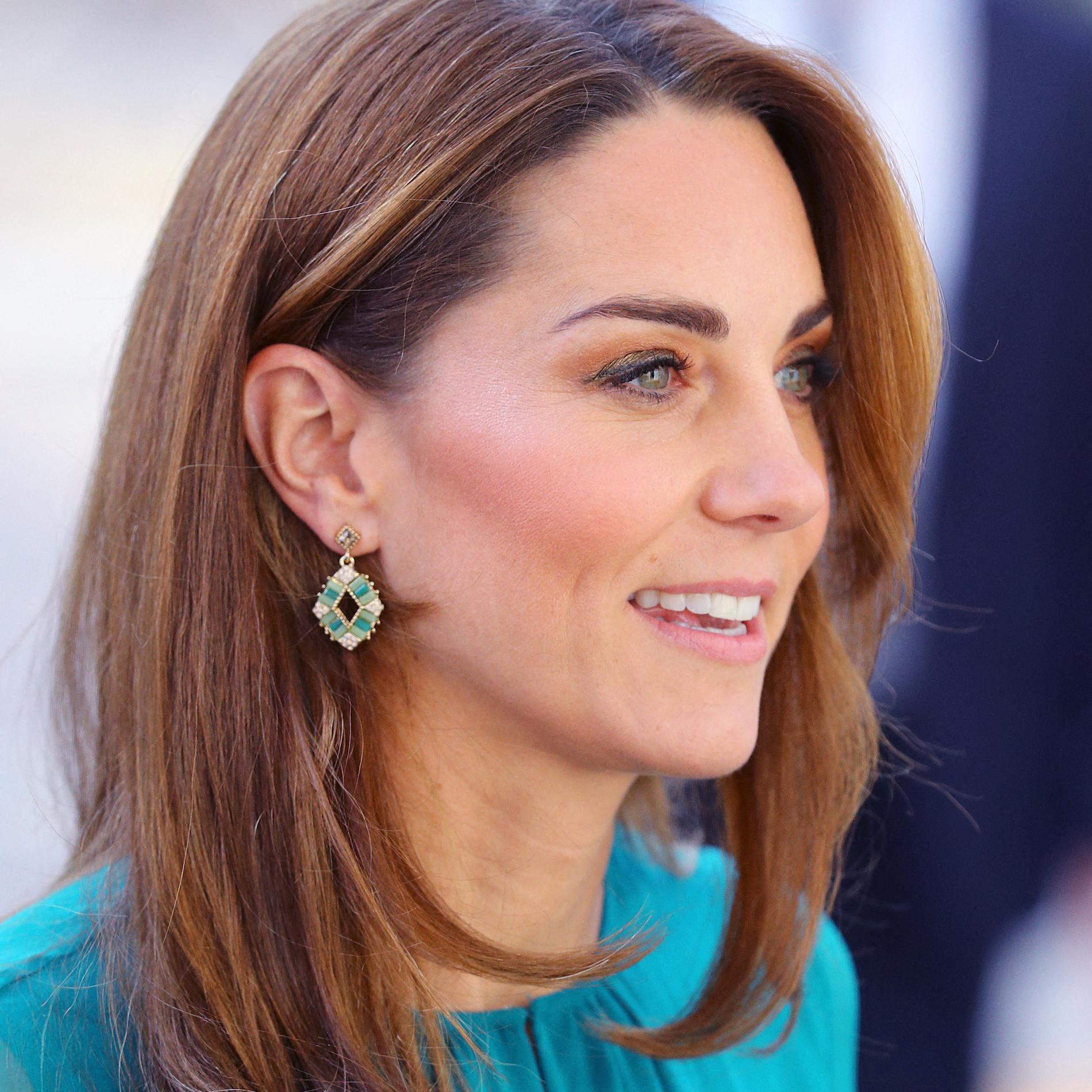 Kate Middleton, ravissante avec une paire de boucles d'oreilles à 6€
