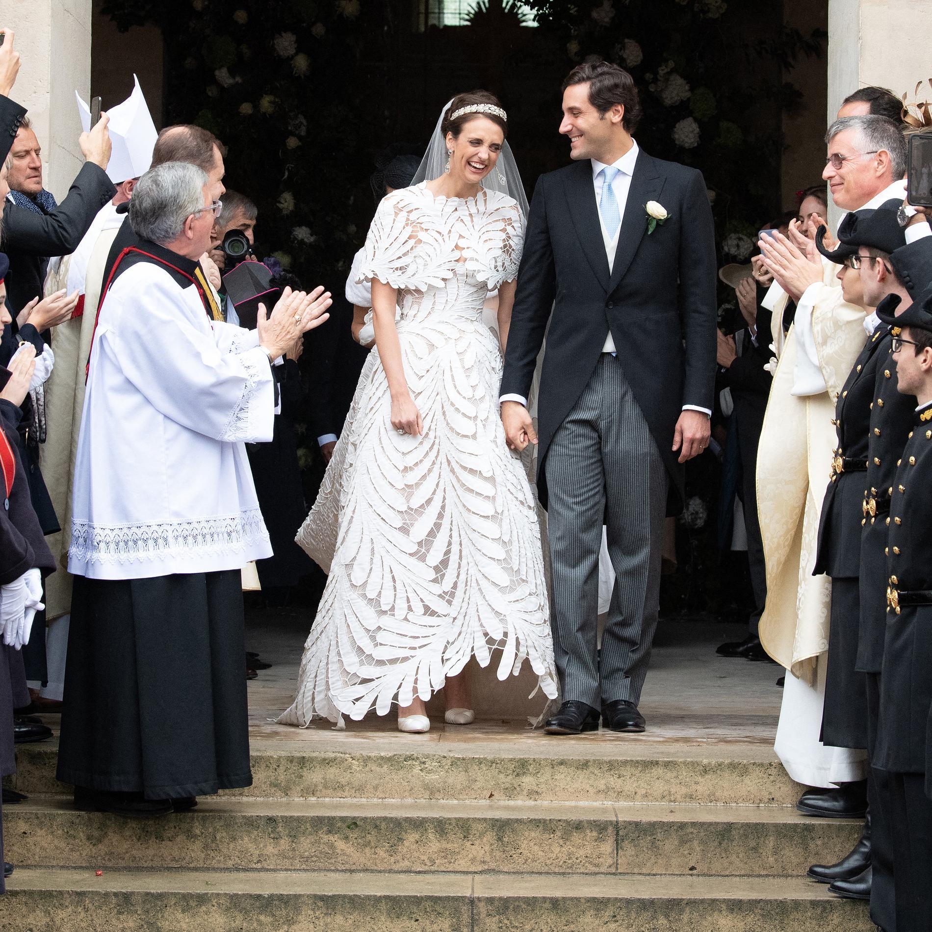 Le mariage de Jean-Christophe Napoléon et de la comtesse Olympia