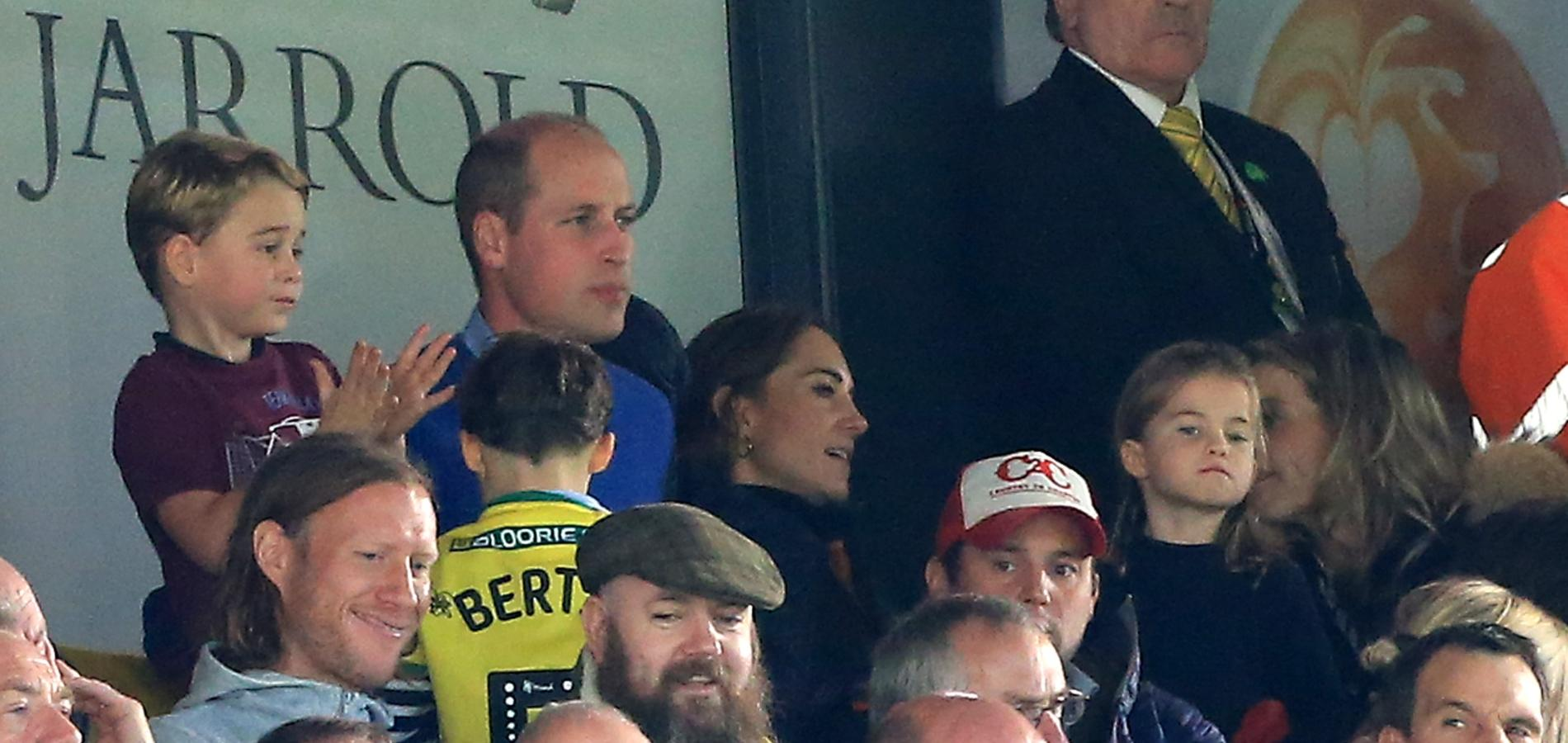 En vidéo, la réaction enflammée du prince George lors d'un match de football