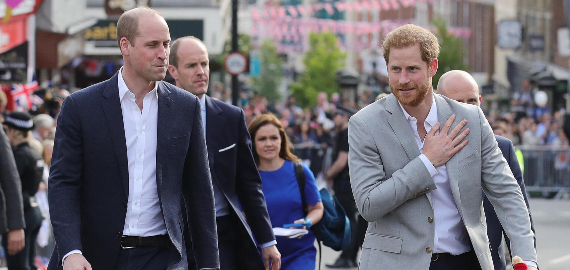 """""""William et moi avons certainement pris des chemins différents"""", reconnaît le prince Harry"""