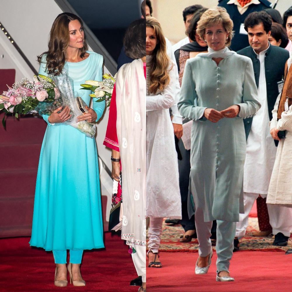 Les points communs mode de Lady Diana et Kate Middleton - photo 26