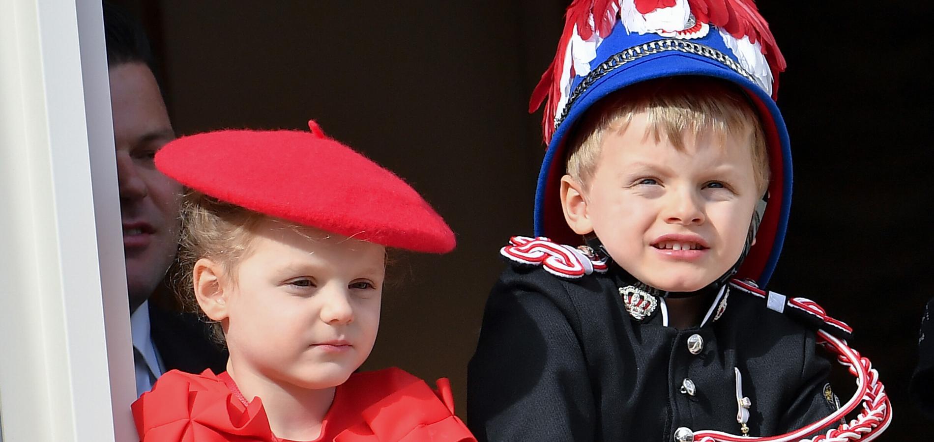 L'apparition très symbolique de Jacques de Monaco, 4 ans, sur le balcon du palais princier
