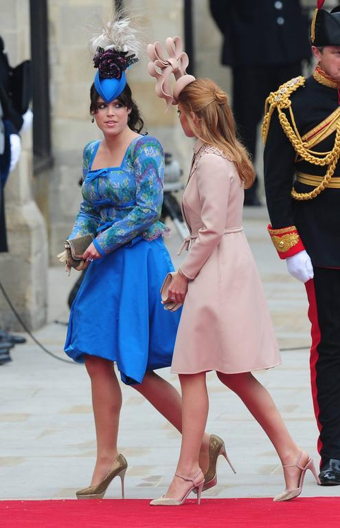 Les princesses Beatrice et Eugenie