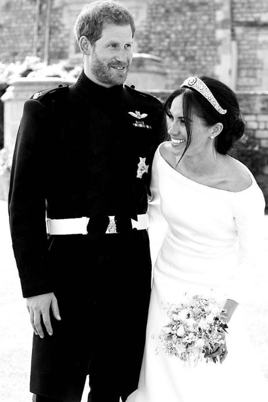 Cette photo inédite du mariage des Sussex, vestige d'un bonheur abîmé