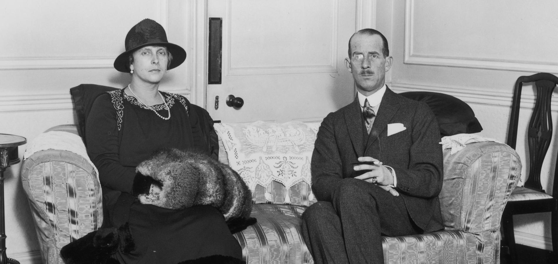 Alice de Battenberg et le prince André de Grèce