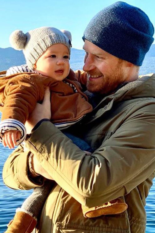 Le prince Harry et son fils Archie au Canada : la photo craquante du début d'année