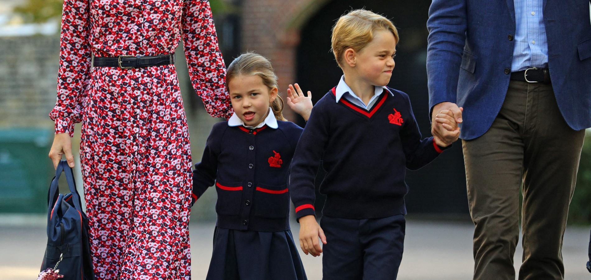 Kate Middleton s'amuse de la petite jalousie fraternelle du prince George envers sa soeur