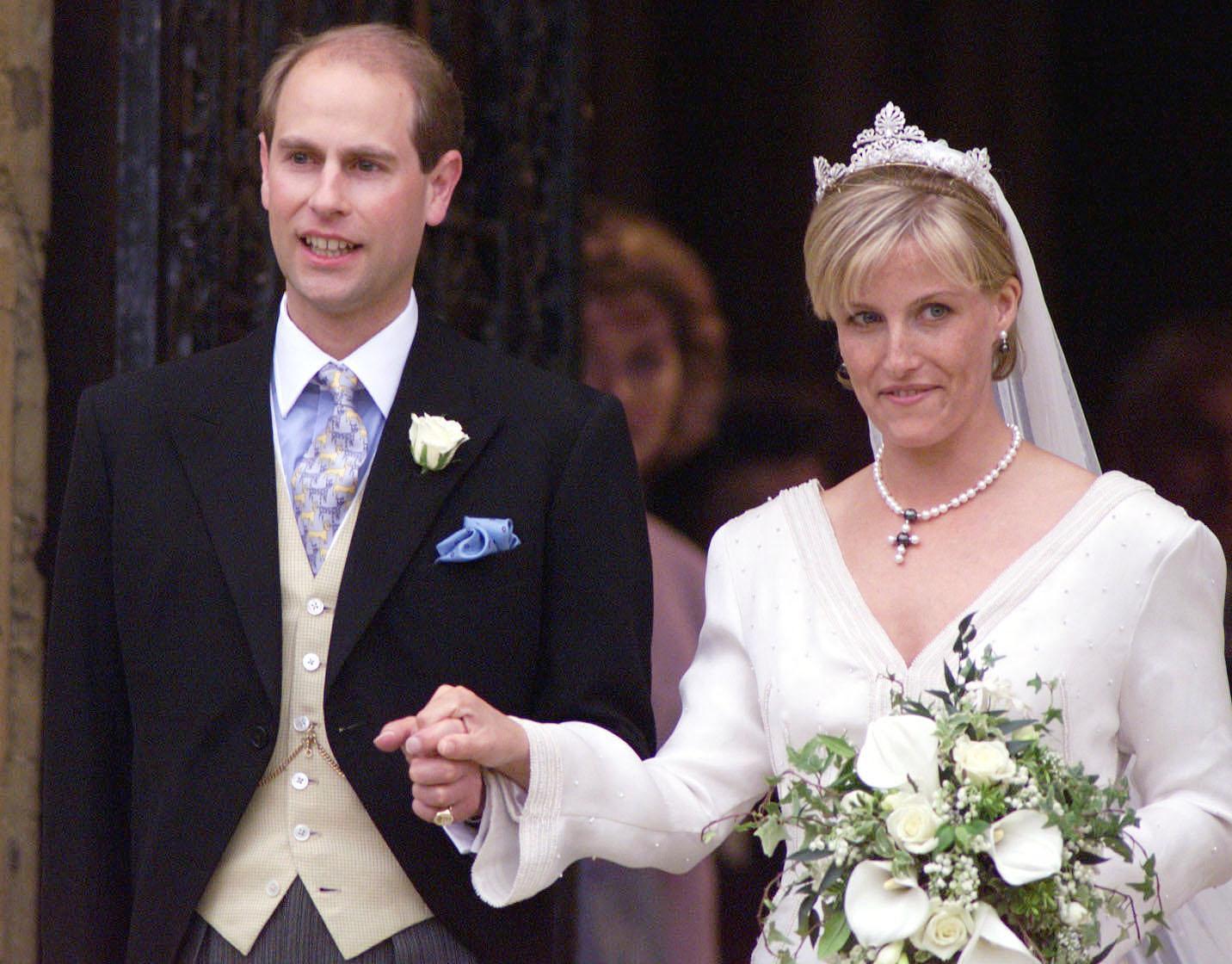 Le prince Edward et Sophie de Wessex