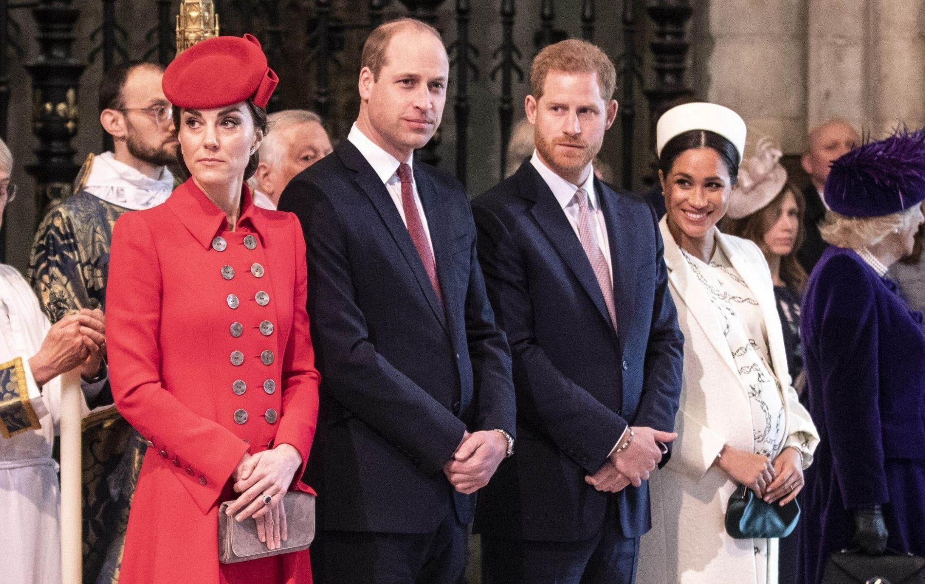 Le prince Harry et Meghan Markle étaient jaloux des Cambridge, clame une nouvelle biographie