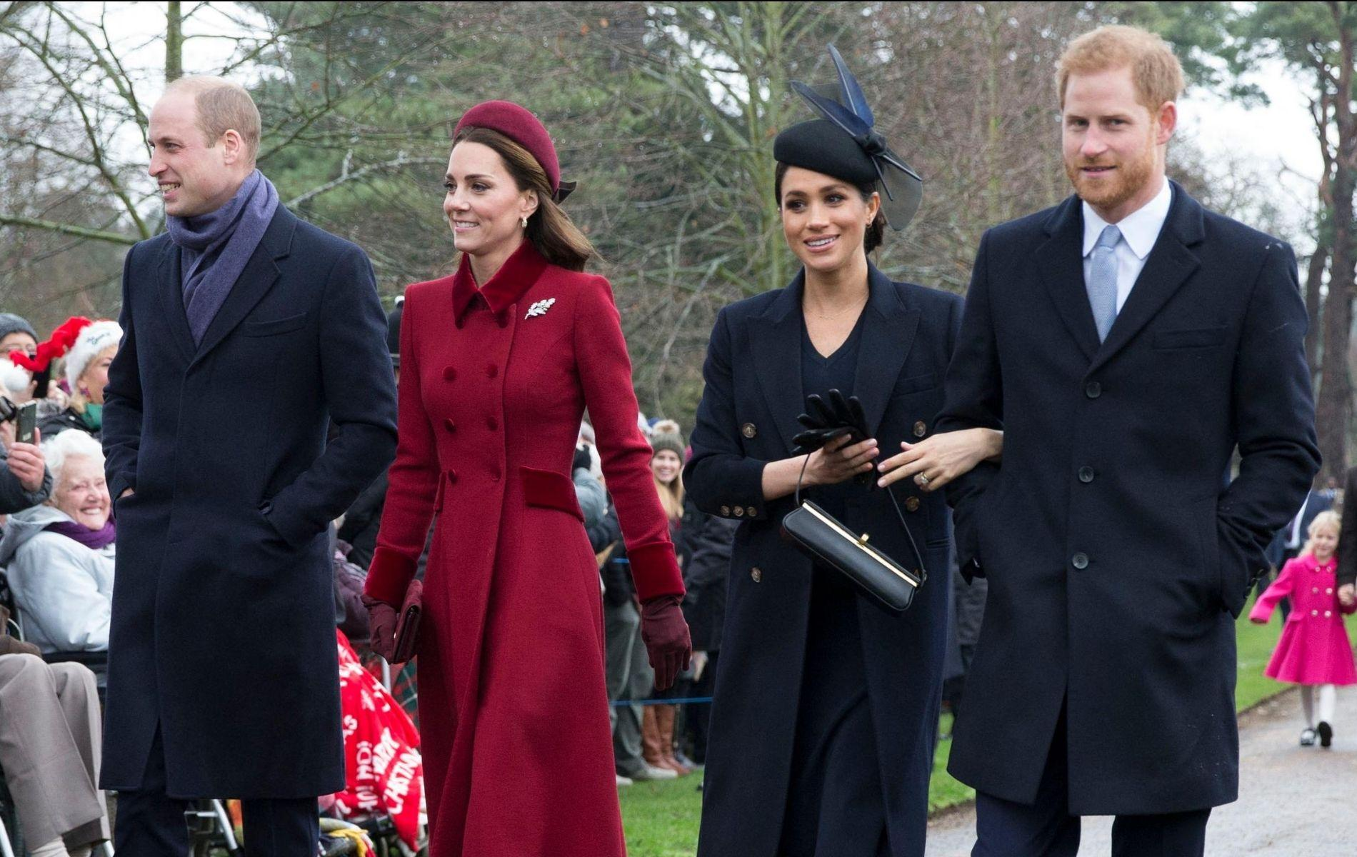 "Le prince William et Kate Middleton auraient ""déroulé le tapis rouge"" à Meghan Markle"