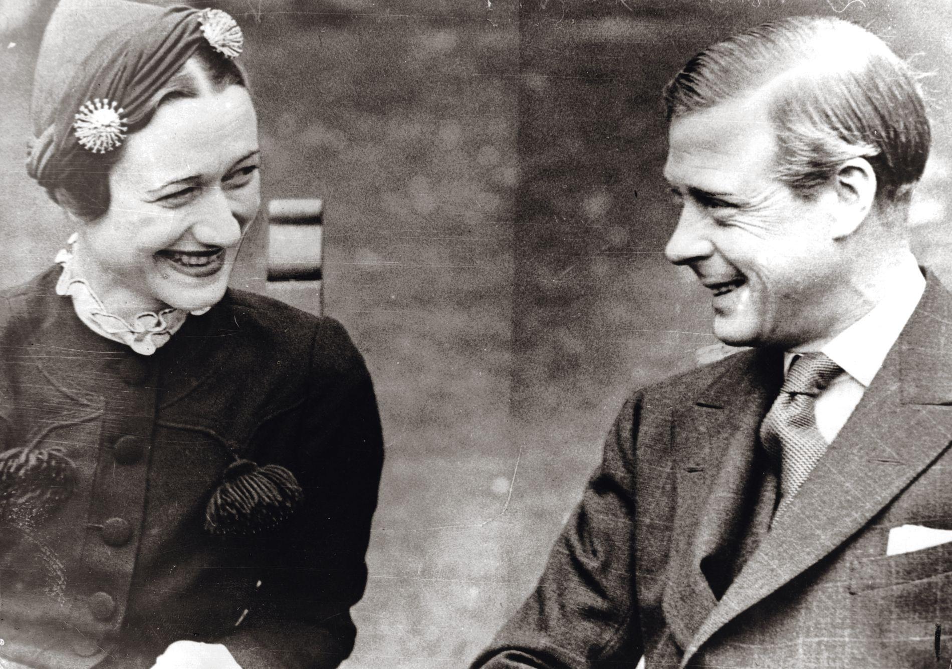 Wallis Simpson et le duc de Windsor