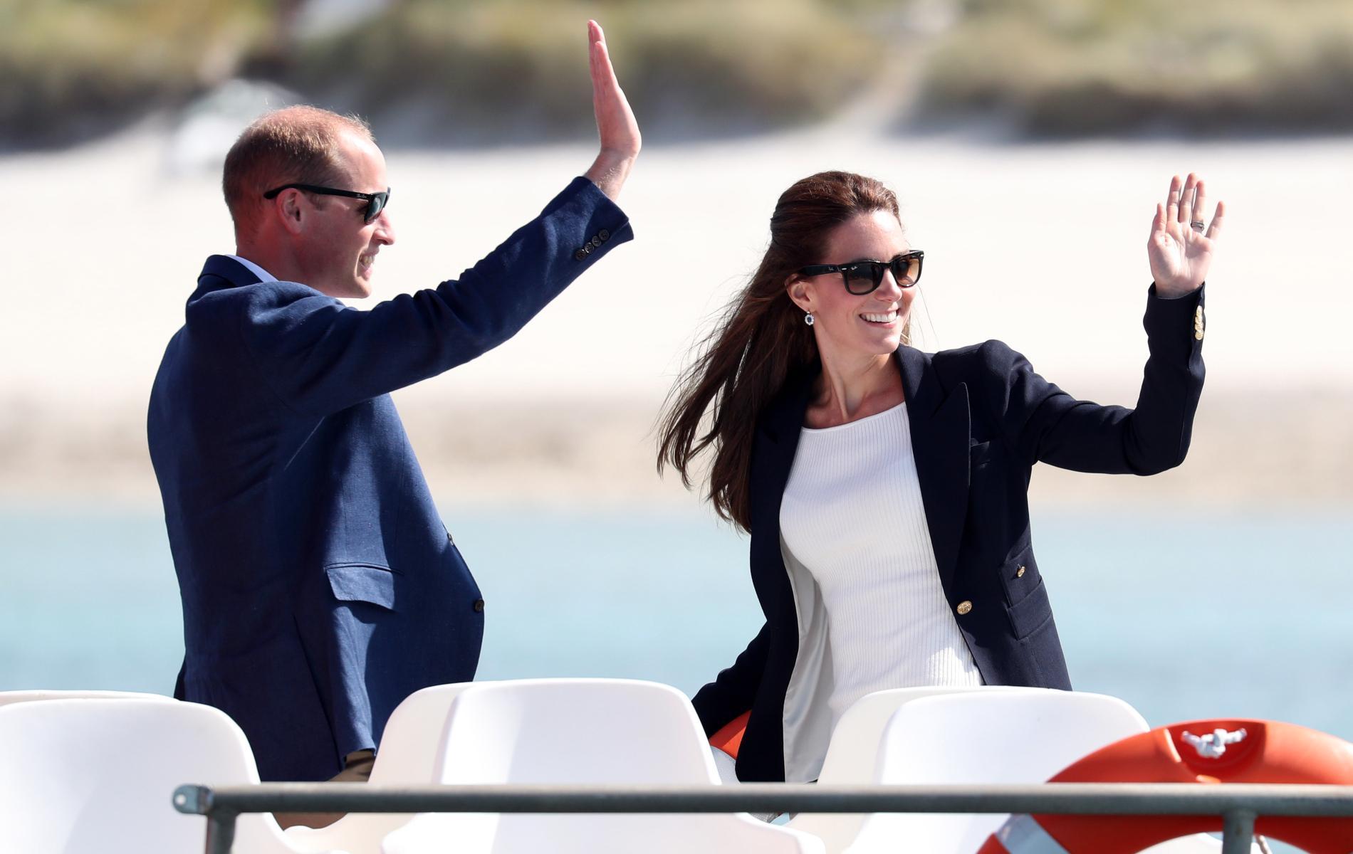 Cap sur les îles Scilly : William et Kate partent à leur tour en vacances avec leurs enfants
