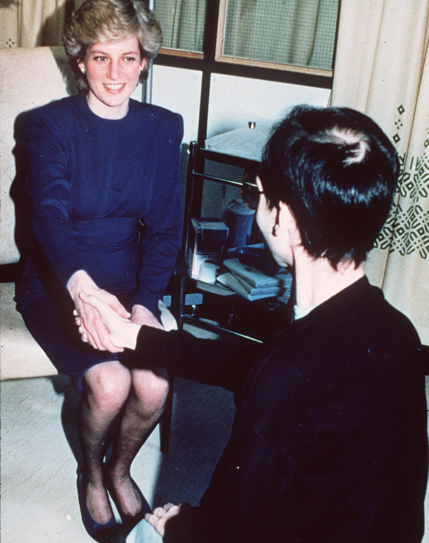 Lady Diana marraine du National Aids Trust