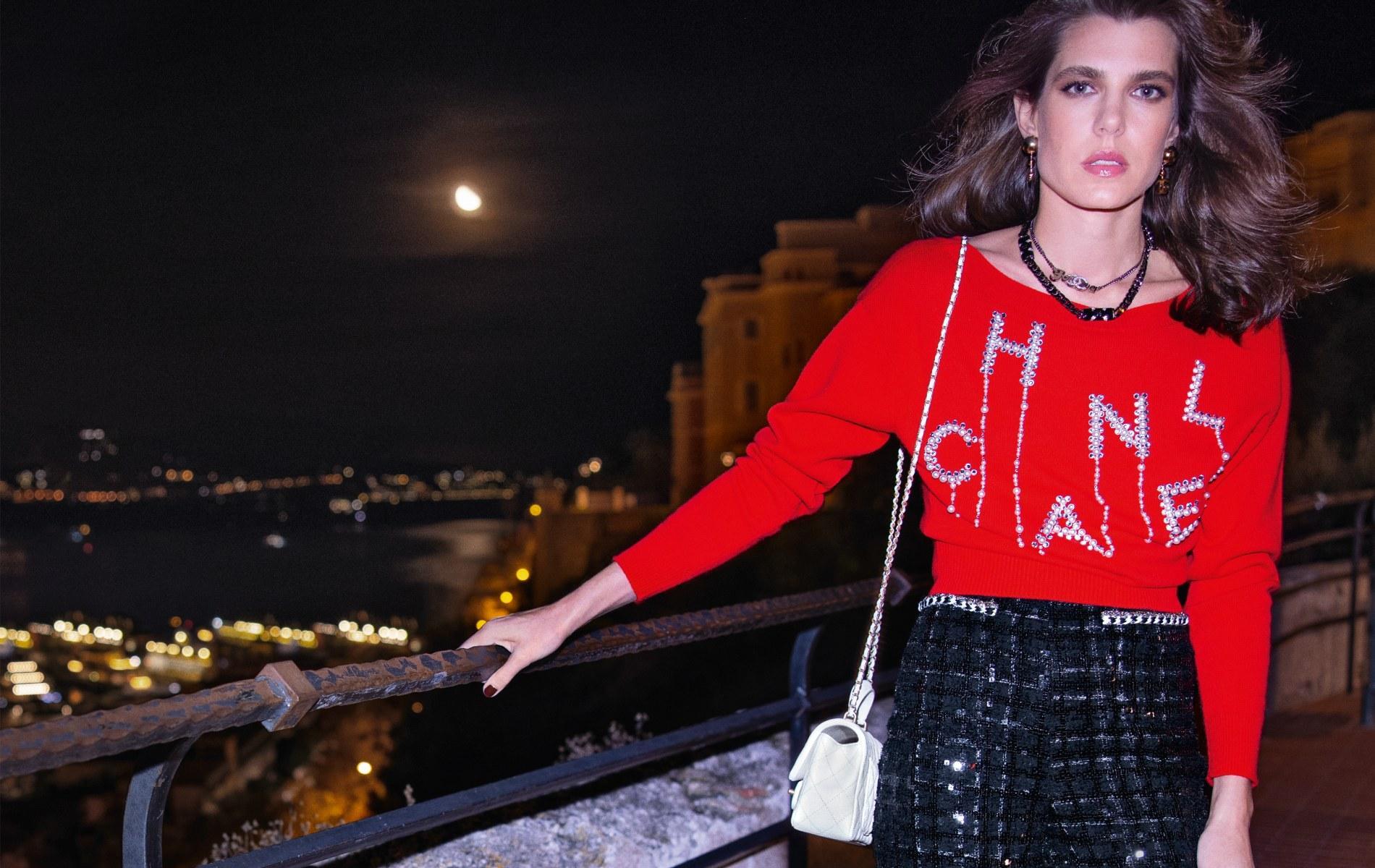 Charlotte Casiraghi, nouvelle ambassadrice et porte-parole de Chanel