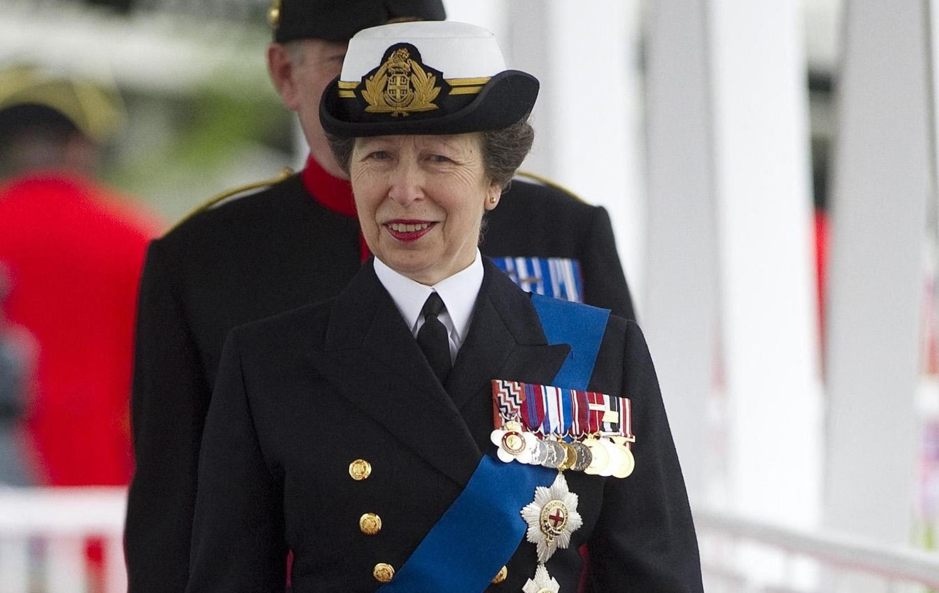 La princesse Anne pourrait devenir la première femme à la tête des Royal Marines