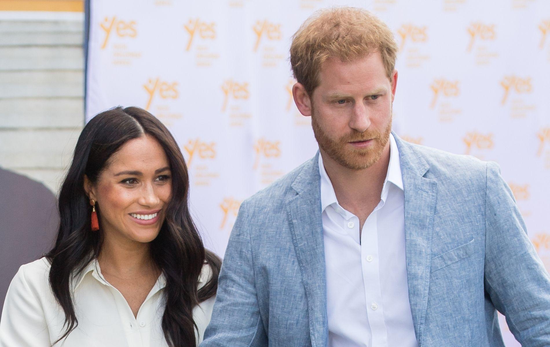 """Buckingham Palace """"nerveux"""" avant l'interview de Meghan et Harry par Oprah Winfrey"""
