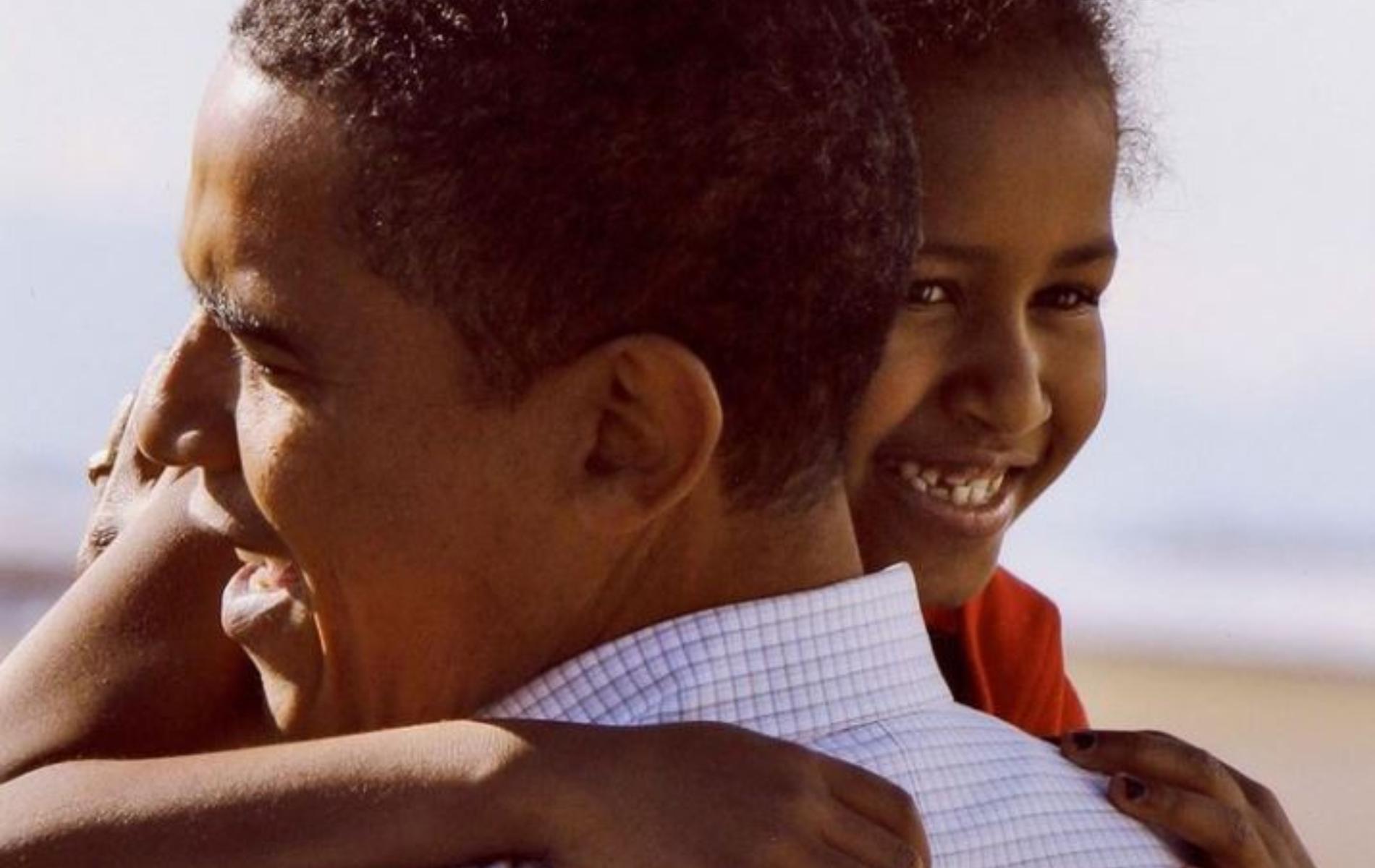 La photo vintage postée par Barack Obama pour les 20 ans de sa fille Sasha