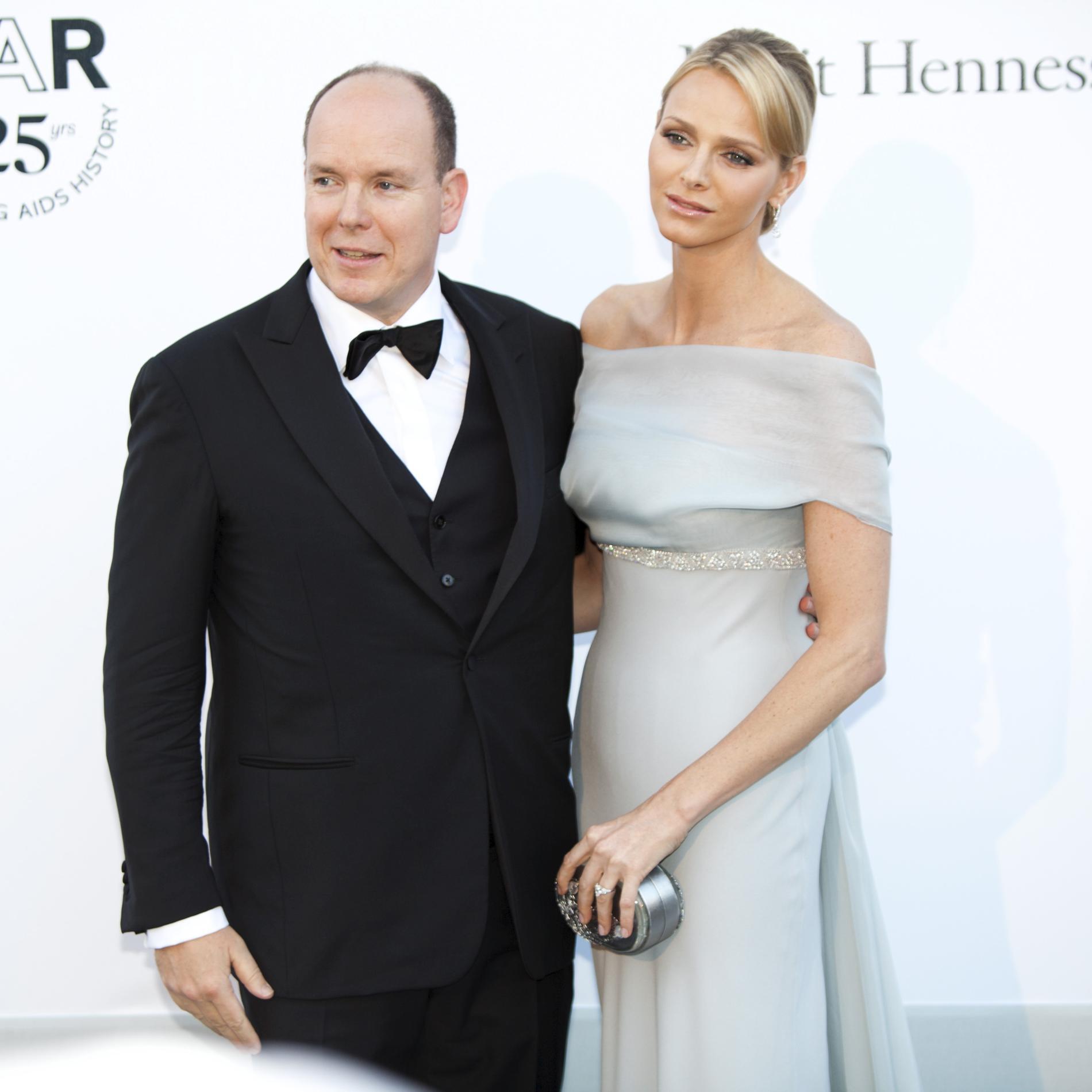 Albert II de Monaco et Charlene Wittstock au gala de l'amfAR 2011