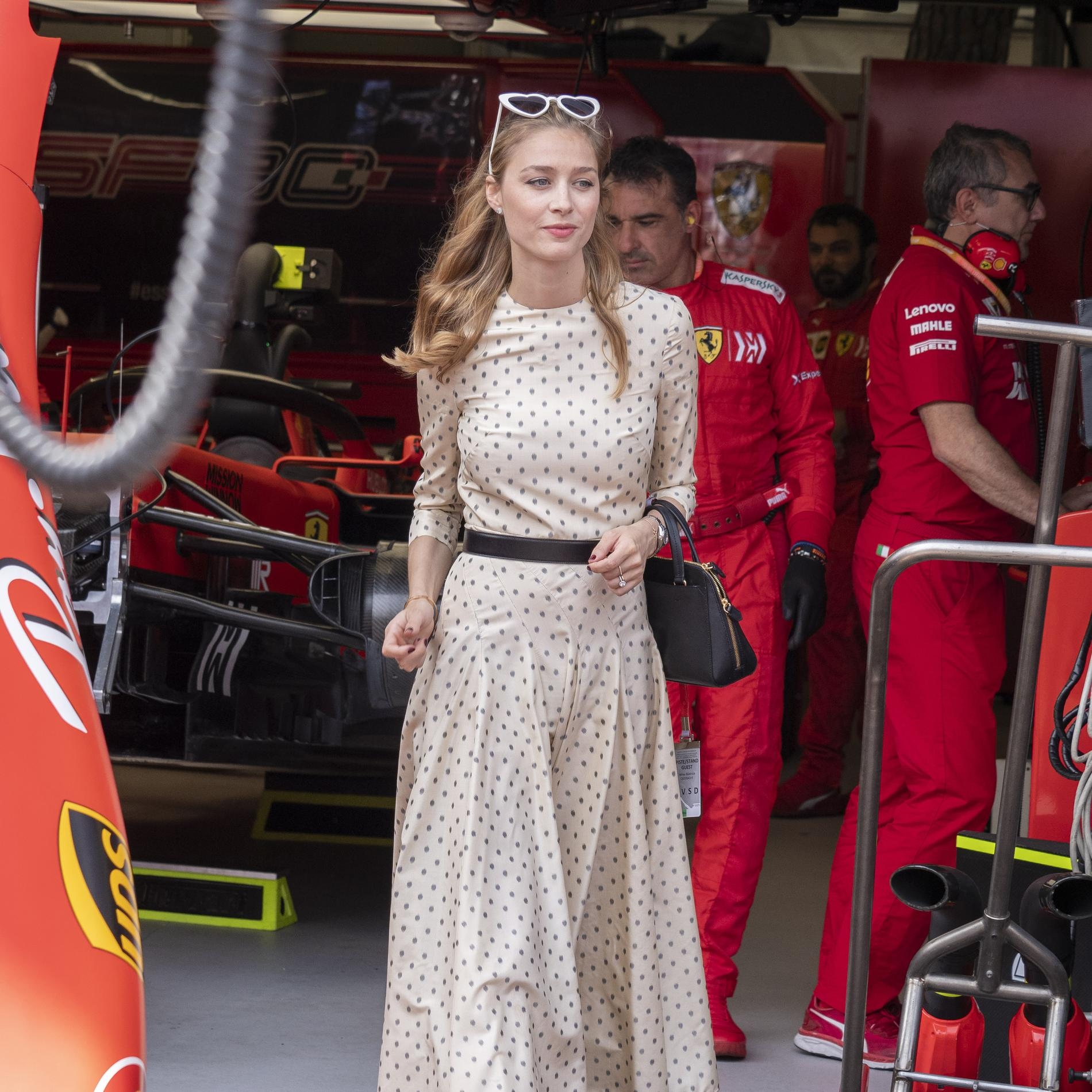 Retour sur les tenues de la princesse Beatrice  Borromeo