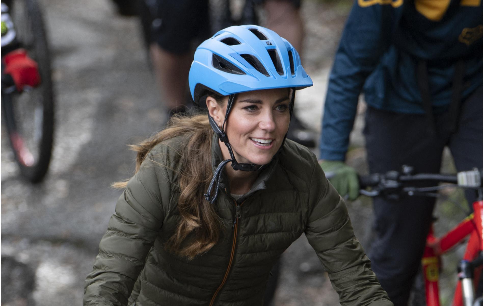 VTT, escalade, Royal Air Force : la rentrée sous adrénaline de Kate Middleton
