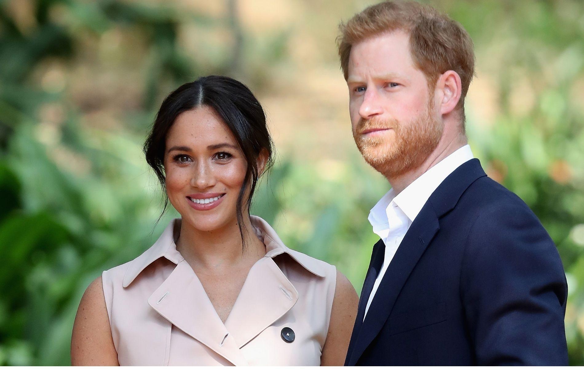 """Meghan Markle et le prince Harry font la une (pétrifiée) du """"Time"""""""