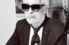 Karl Lagerfeld : «Je suis une marque ambulante, je m'appelle Logofeld»