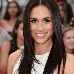 Meghan Markle's most beautiful hairstyles - wand straightening