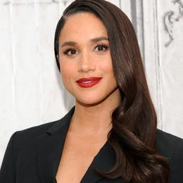 Meghan Markle's most beautiful hairstyles - The notched side hair