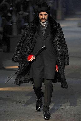 Défilé Alexander McQueen Automne hiver 2008 2009 Homme