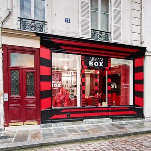 3c5e126b3e2 Giorgio Armani Beauty ouvre sa première boutique à Paris