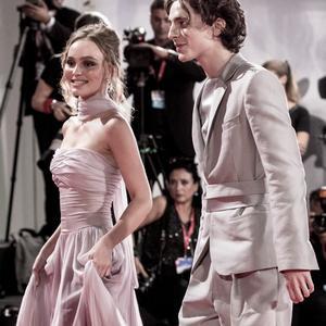 Lily-Rose Depp et Timothée Chalamet, situation amoureuse